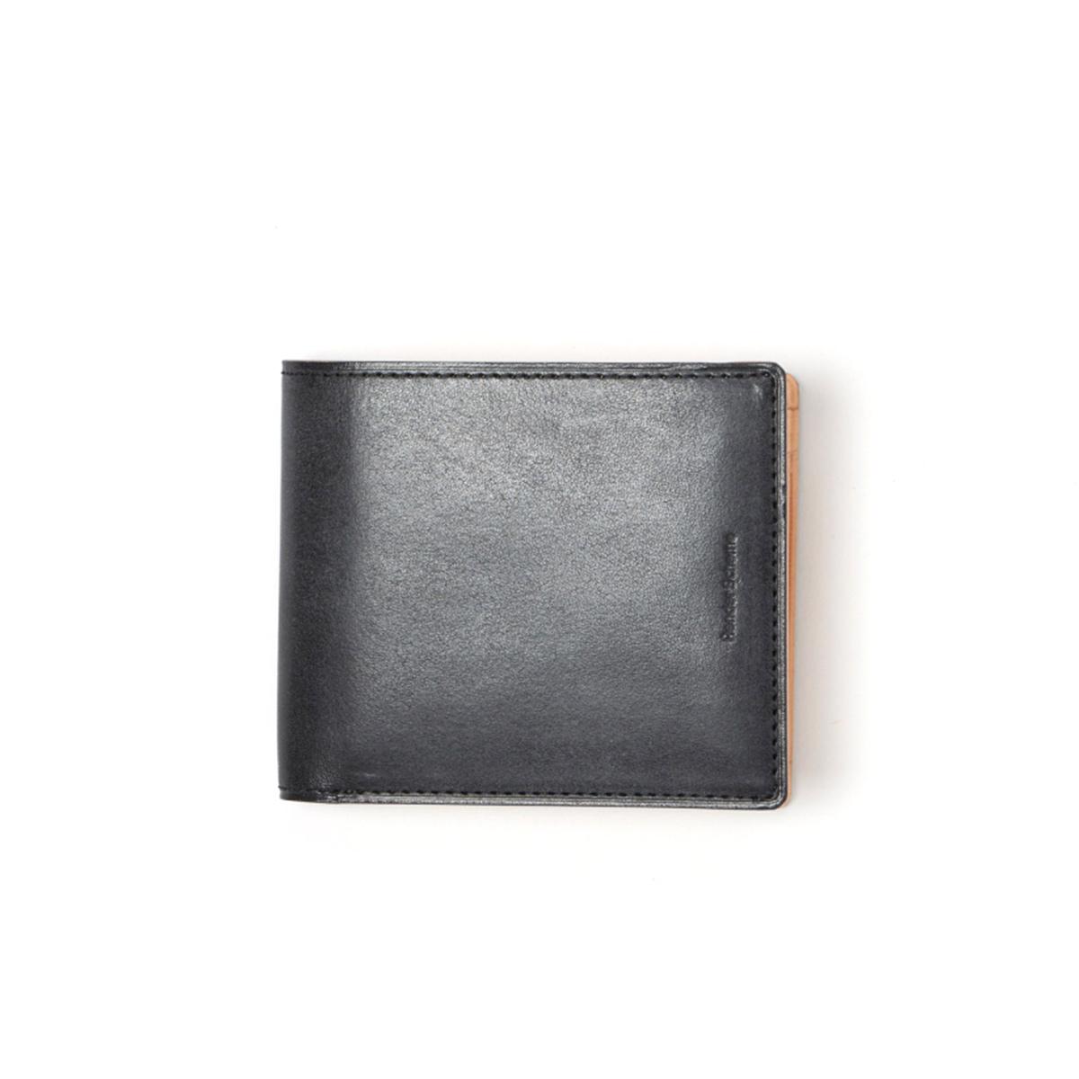 Hender Scheme / half folded wallet -Black