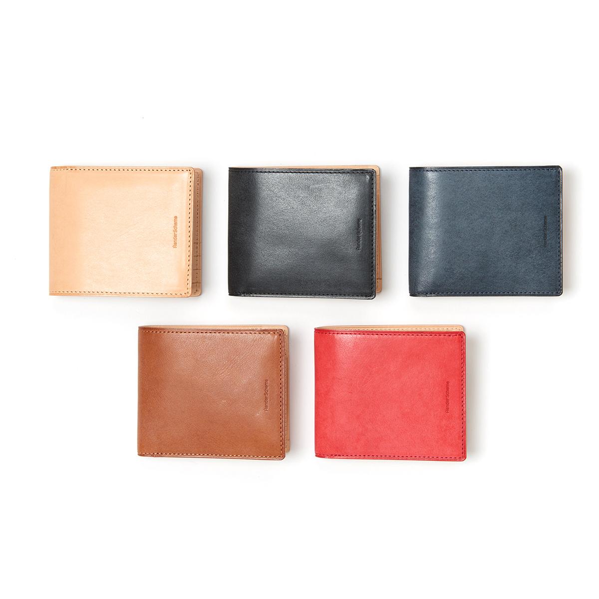 Hender Scheme / half folded wallet