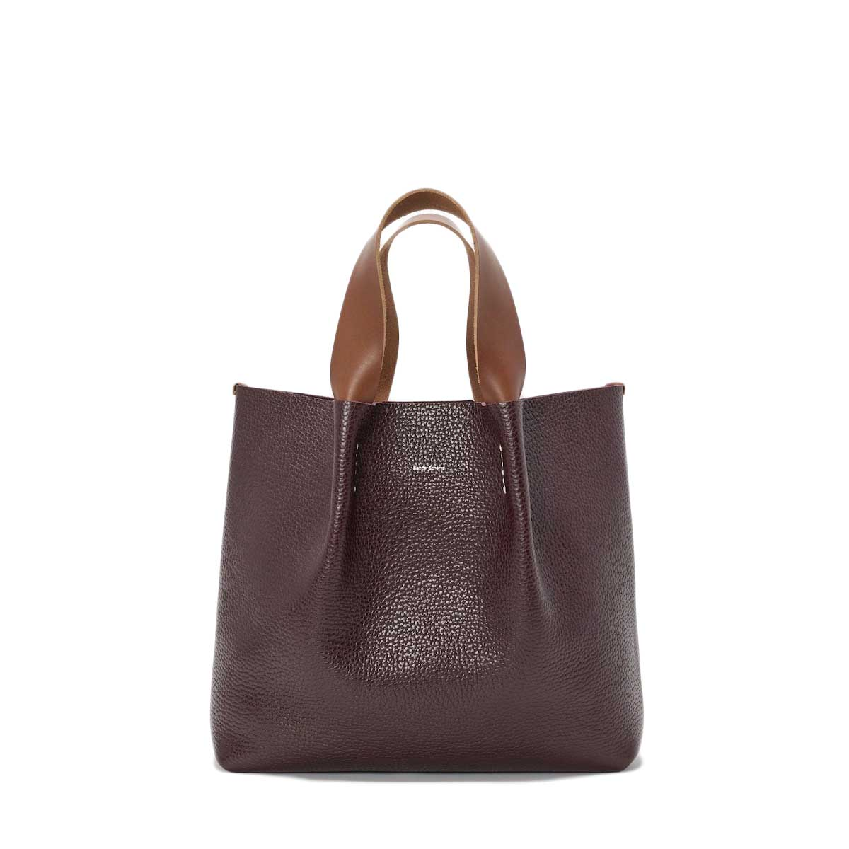 Hender Scheme / piano bag medium (Burgundy) 正面