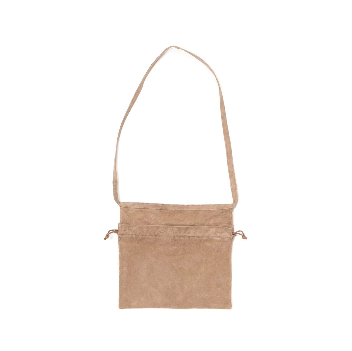 Hender Scheme / red cross bag small Beige