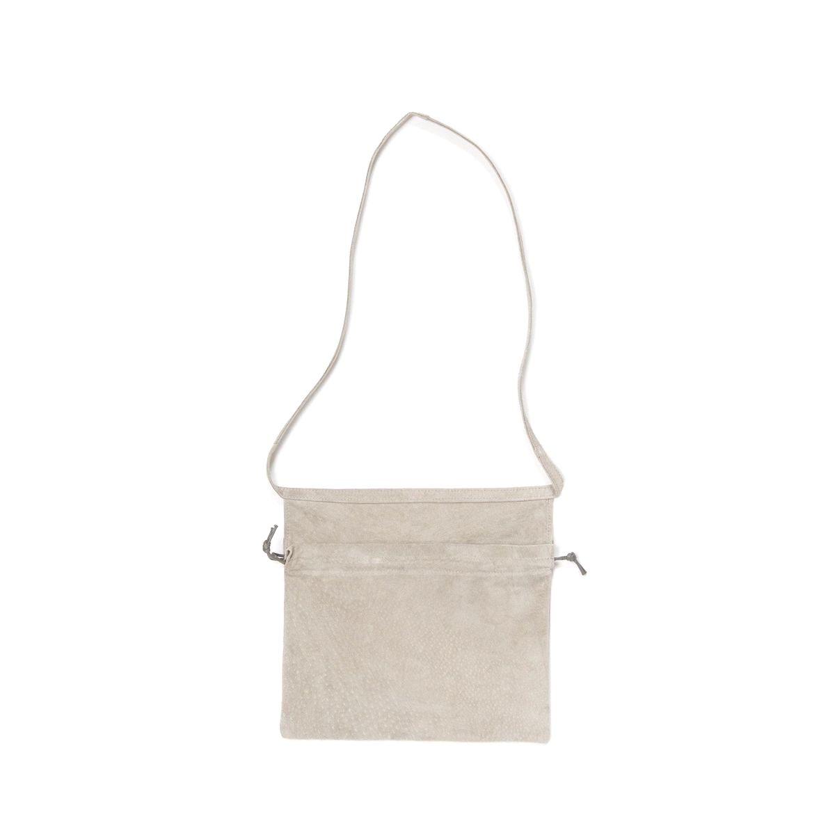 Hender Scheme / red cross bag small Light Gray