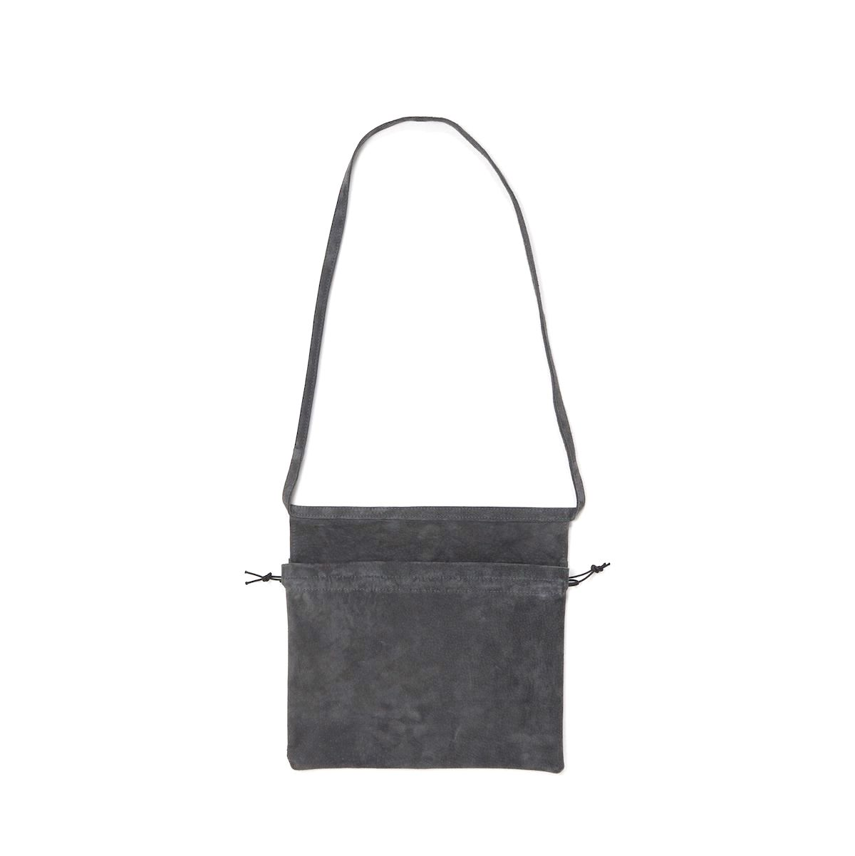 Hender Scheme / red cross bag small Dark Gray