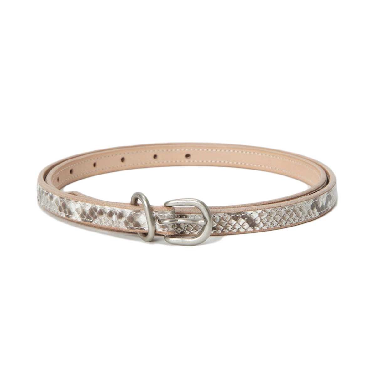 Hender Scheme / python tail belt・Natural