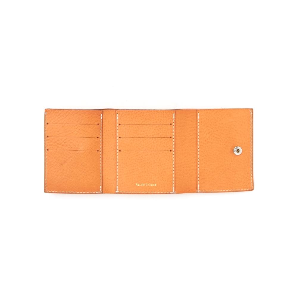 Hender Scheme / trifold wallet 内側