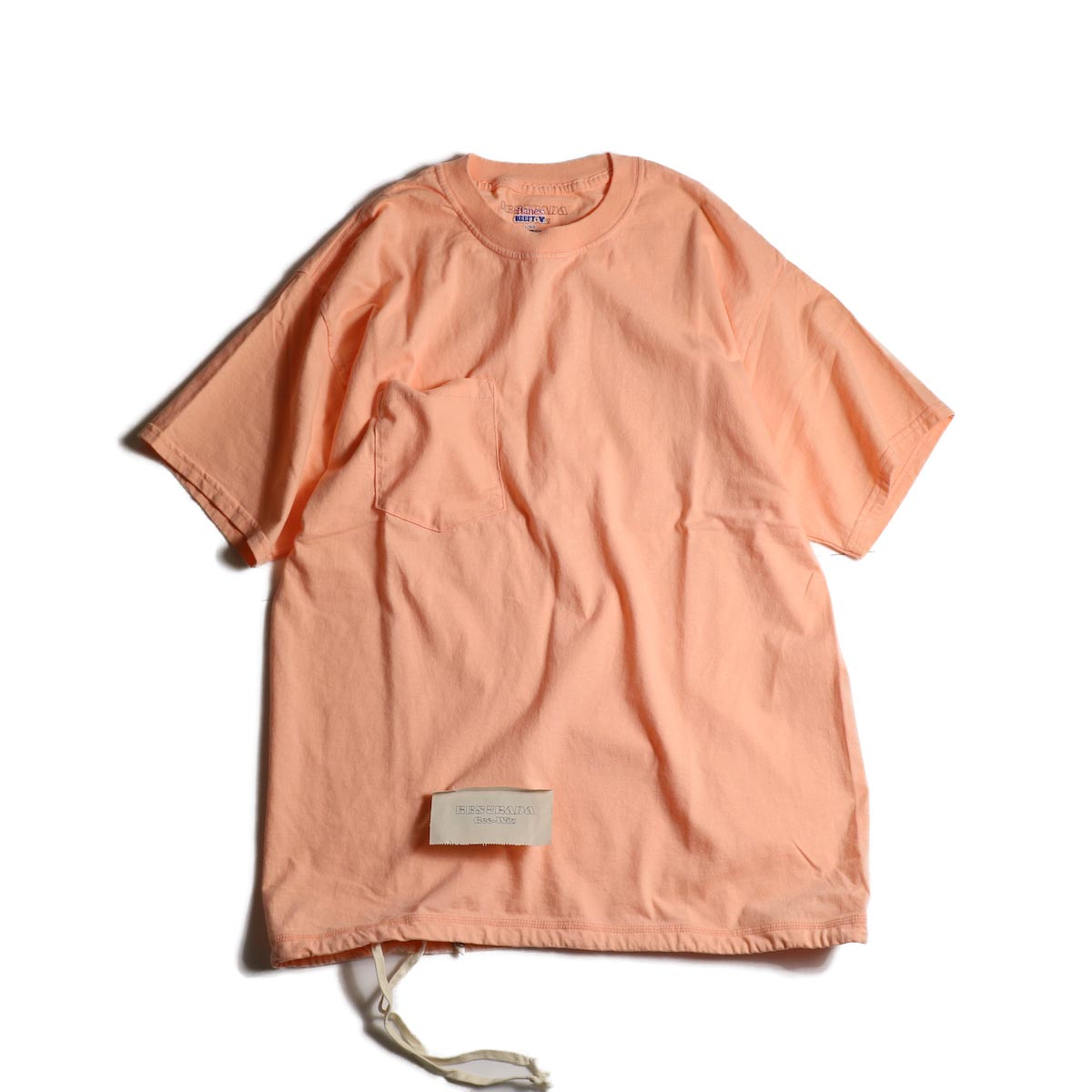 HESTRADA GEE-WIZ / SWITCH S/S Tee (Candy Orange)正面
