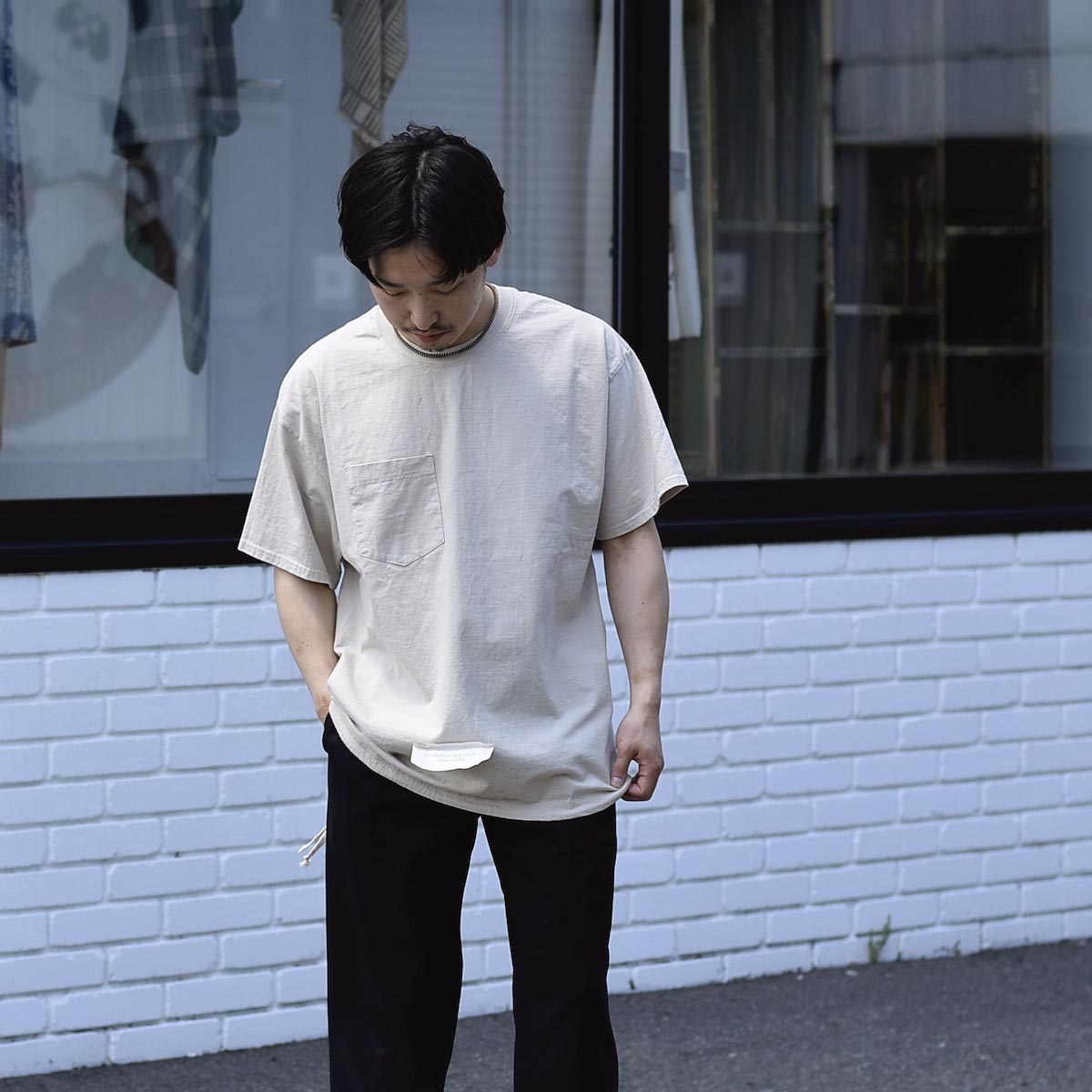 HESTRADA GEE-WIZ / SWITCH S/S Tee 着用イメージ Lsize