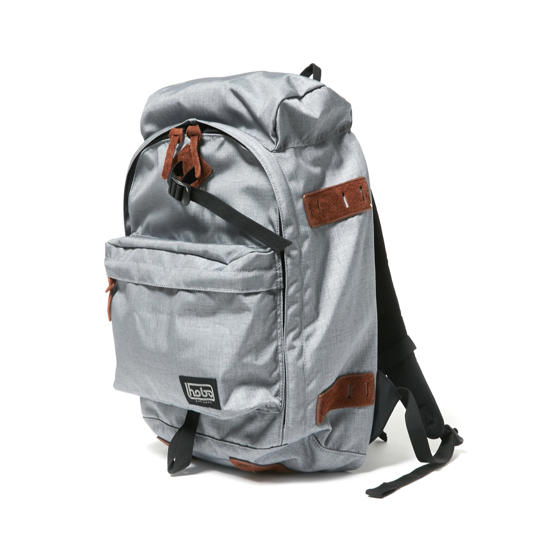 "HOBO / CELSPUN NYLON BACKPACK 31L ""SIRDAR"" -gray"