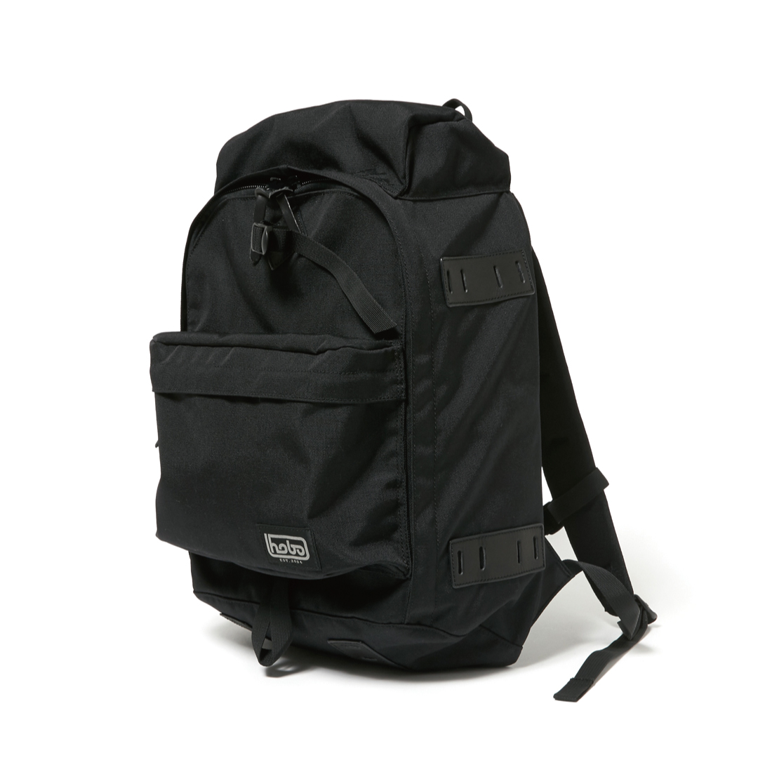 "HOBO / CELSPUN NYLON BACKPACK 31L ""SIRDAR"" -BLACK"