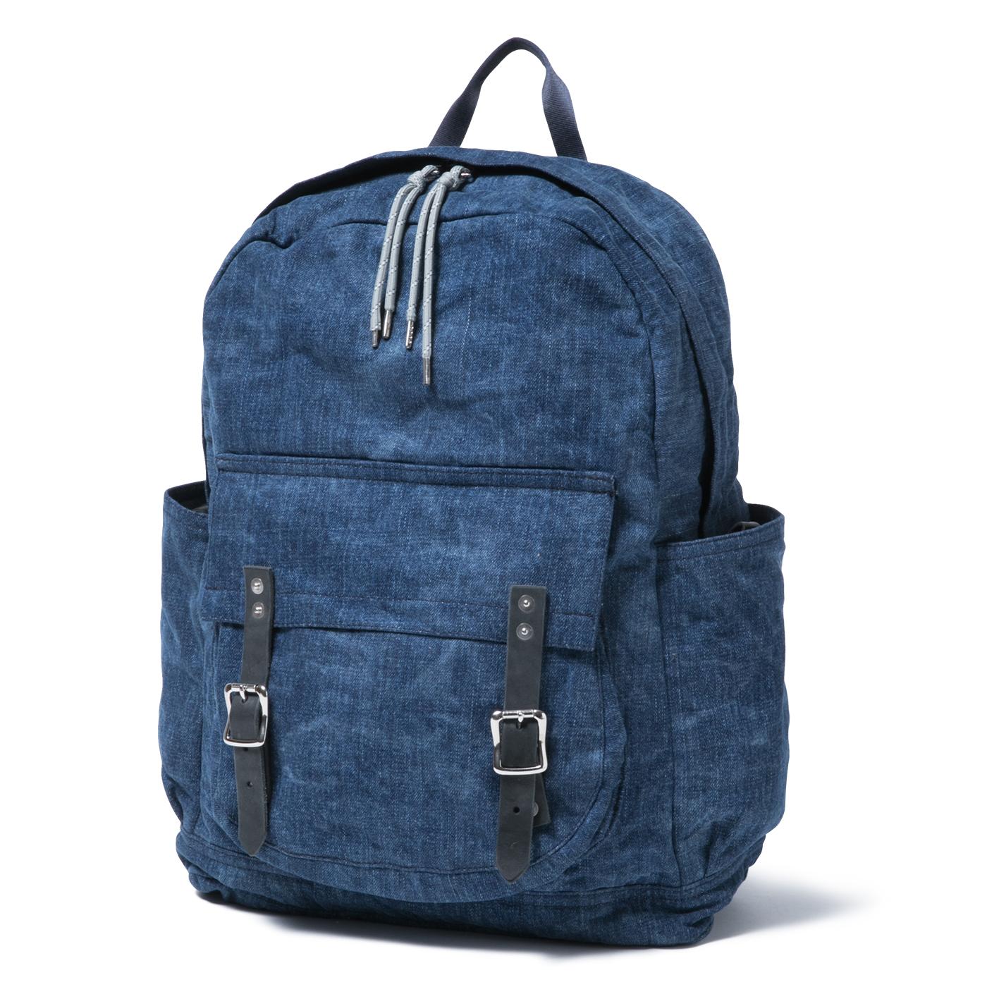 HOBO / Japanese Denim 13.5oz Backpack 24L -INDIGO