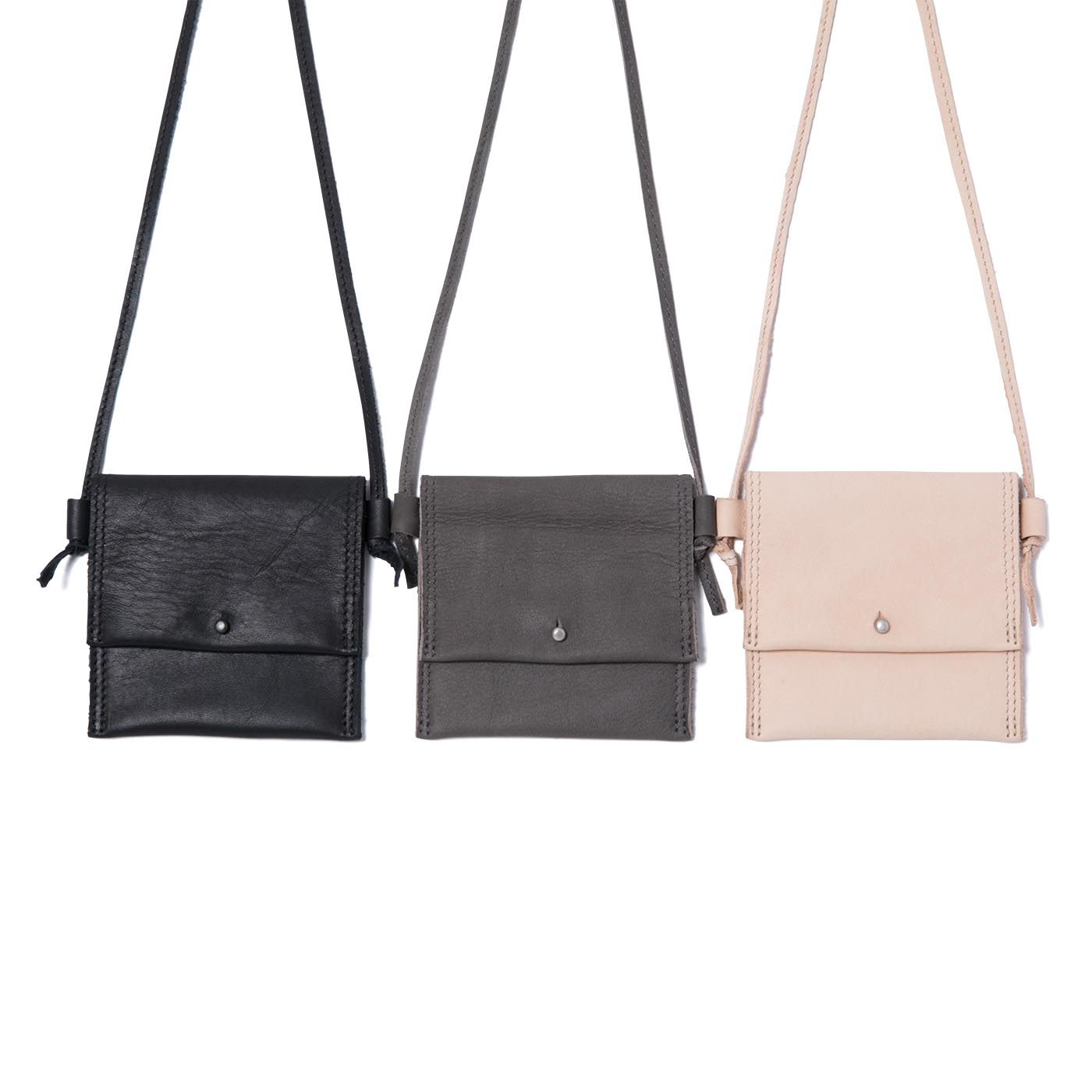 HOBO / Cow Leather Neck Pouch S