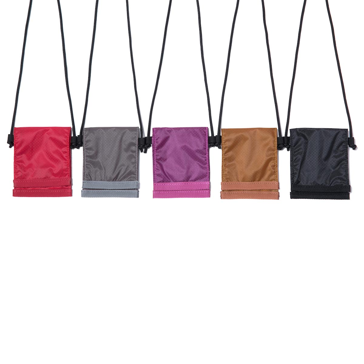 HOBO / CORDURA® Lightweight Nylon Ripstop Neck Pouch