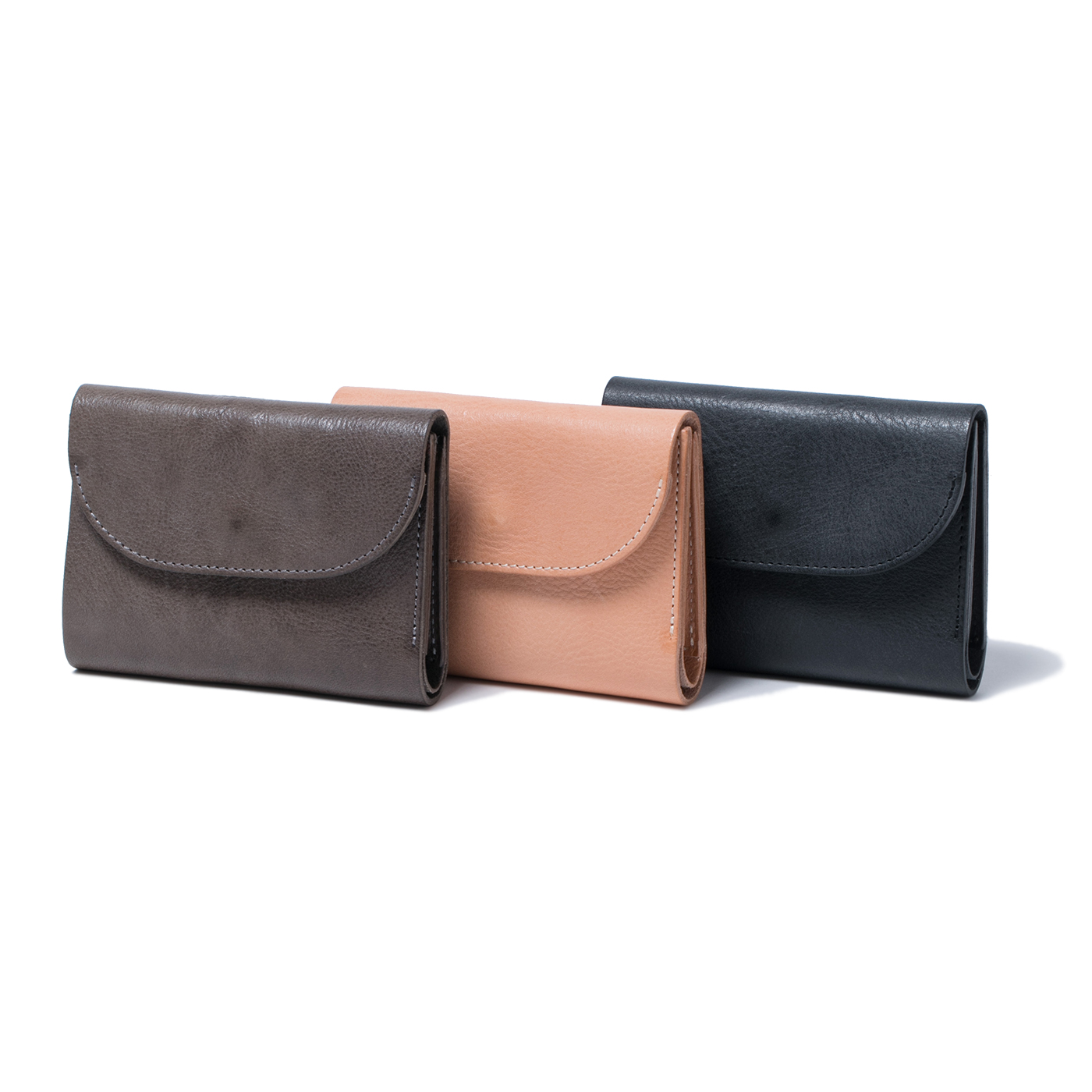 HOBO / Cow Leather Trifold Wallet