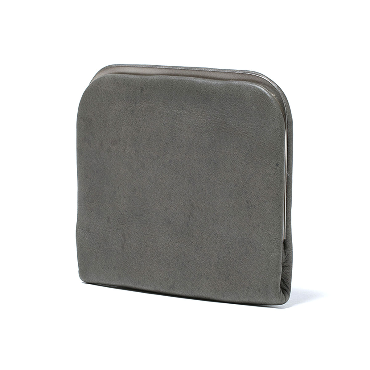 HOBO / COW LEATHER CLIP POUCH -GRAY