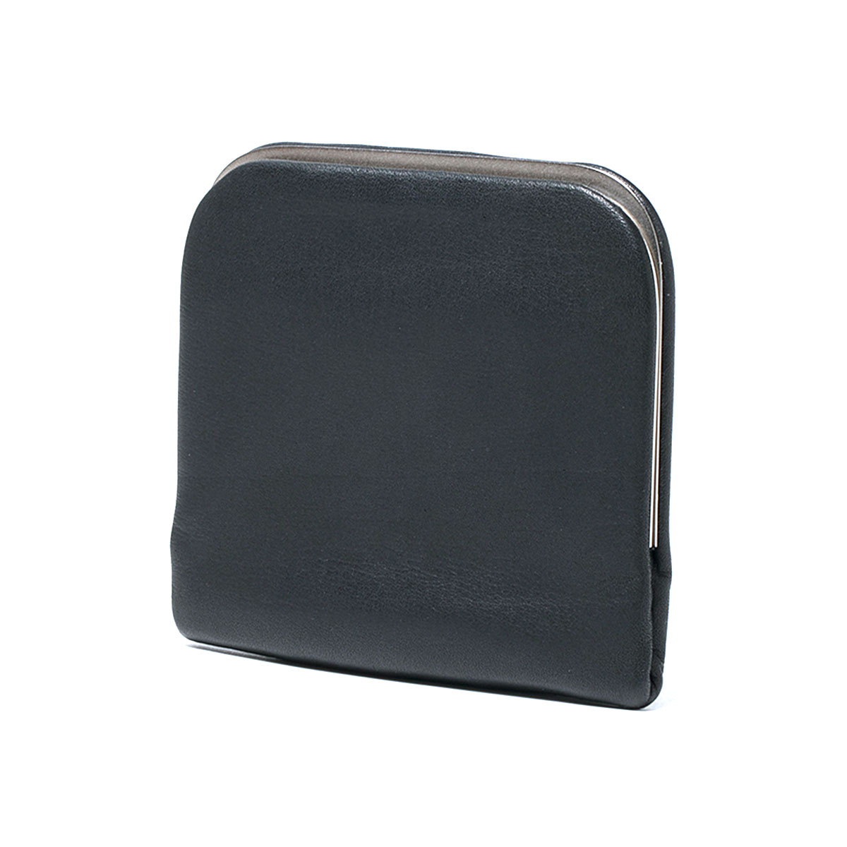 HOBO / COW LEATHER CLIP POUCH -BLACK