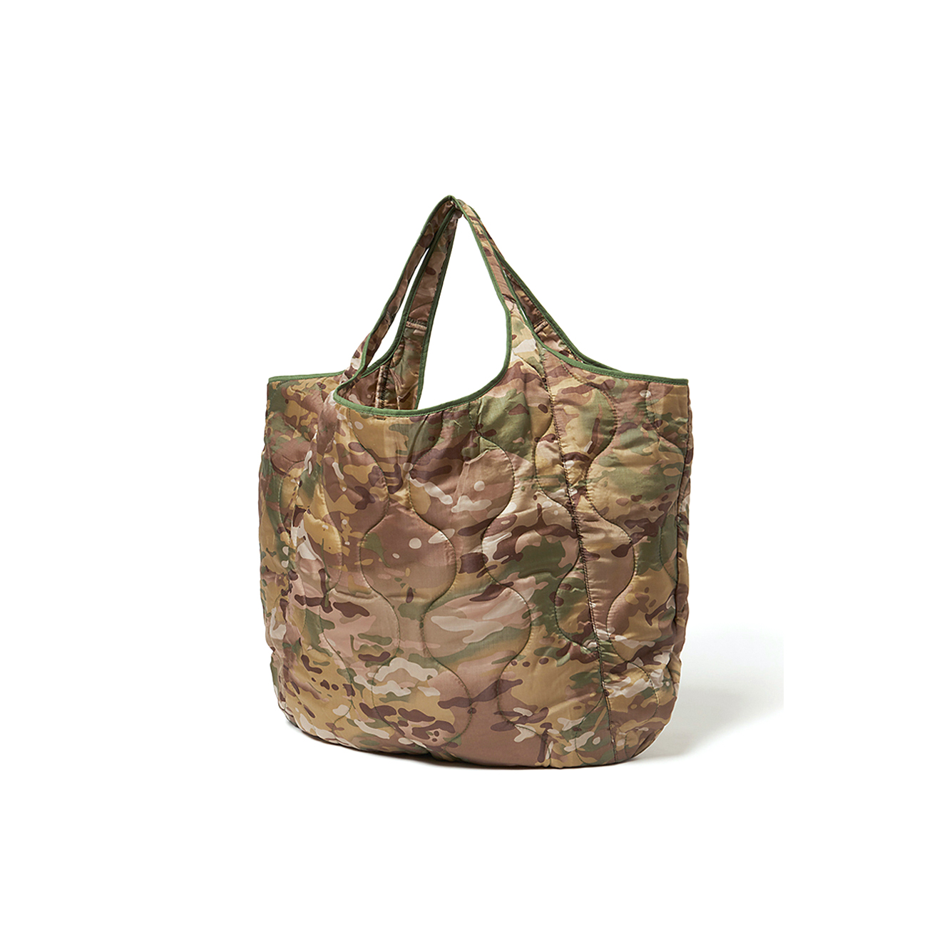HOBO / QUILTED POLYESTER TOTE BAG SMALL (Multi Camo)
