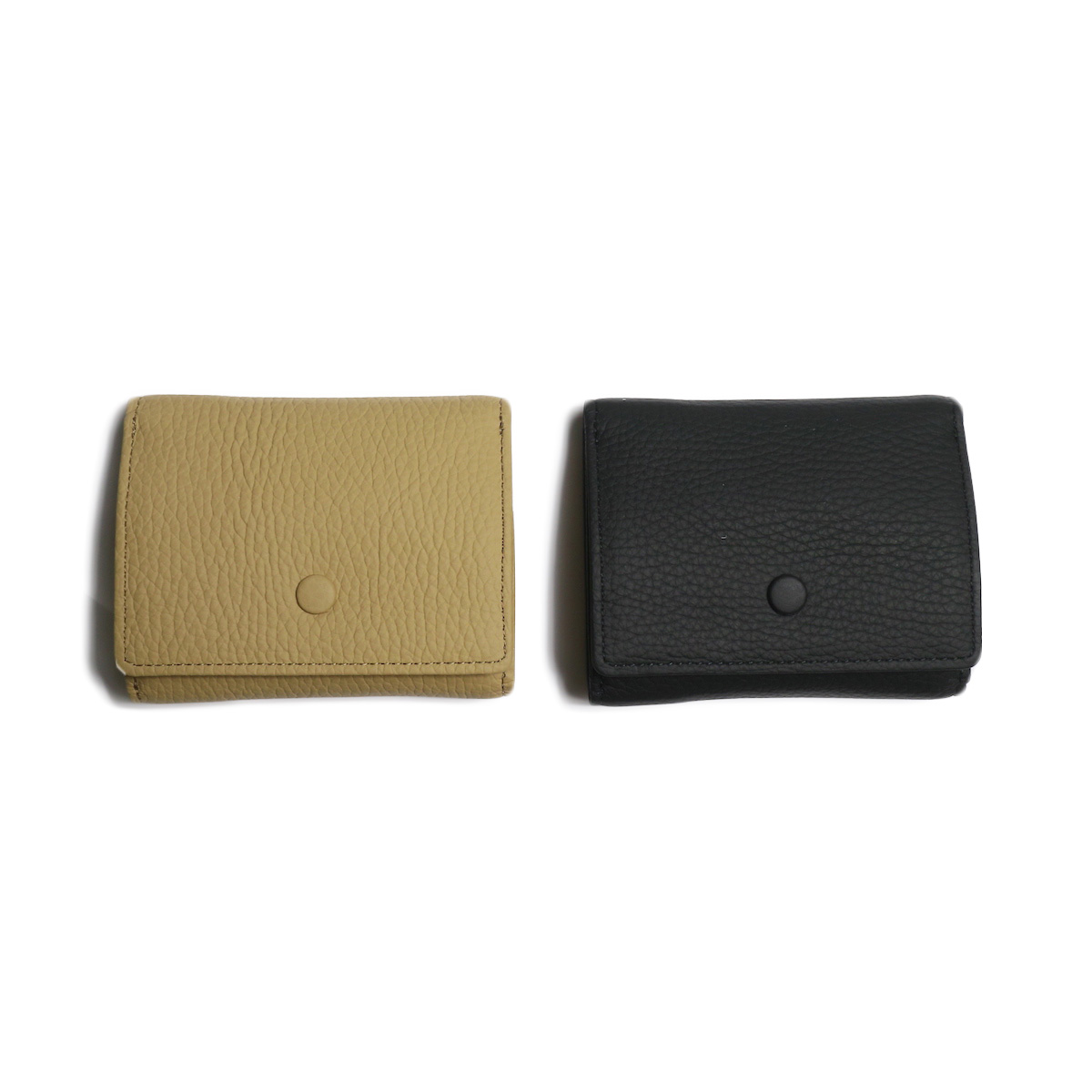 HOBO / Shrink Leather Trifold Wallet