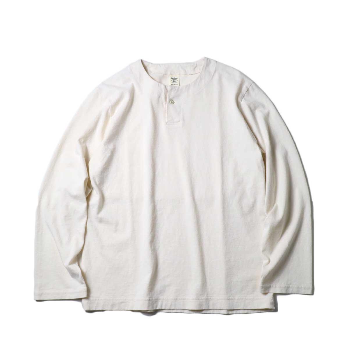 Jackman / Henleyneck LS T-Shirt (Kinari)