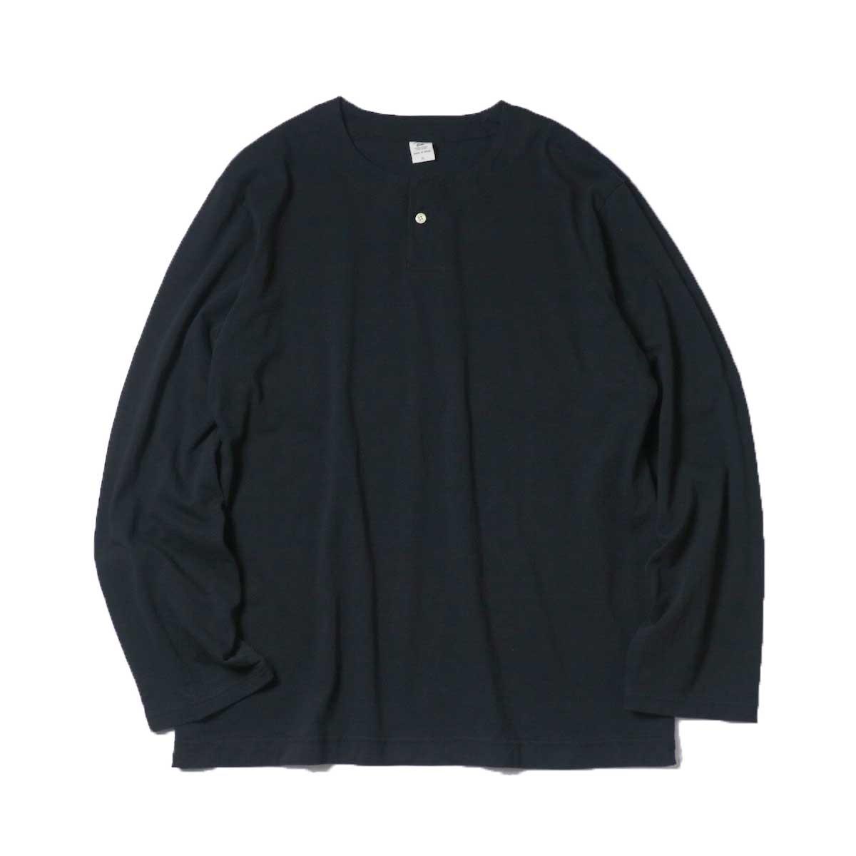 Jackman / Henleyneck LS T-Shirt (Sumikuro)
