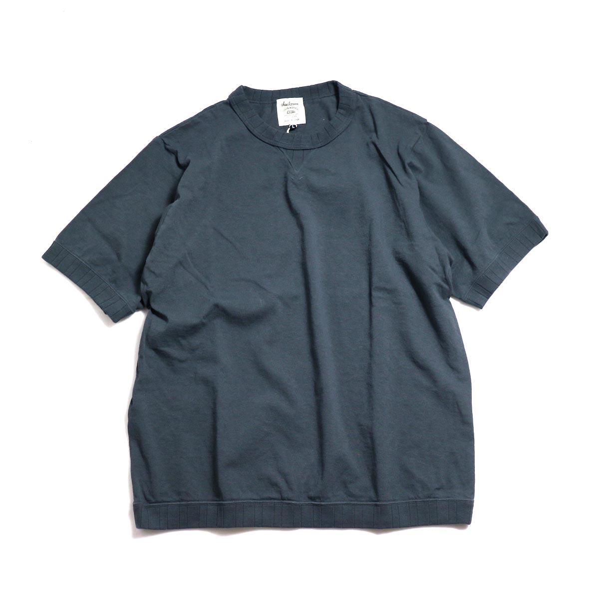 Jackman / Rib T-Shirt -Dark Gray
