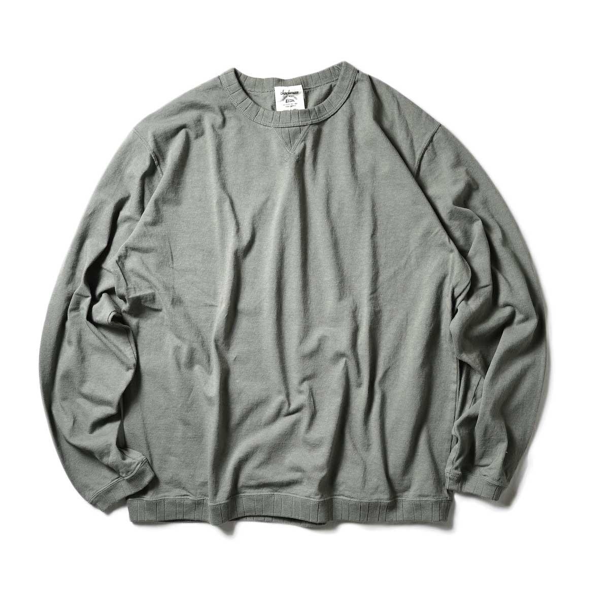 Jackman / Rib LS T-Shirt (Dark Clover)