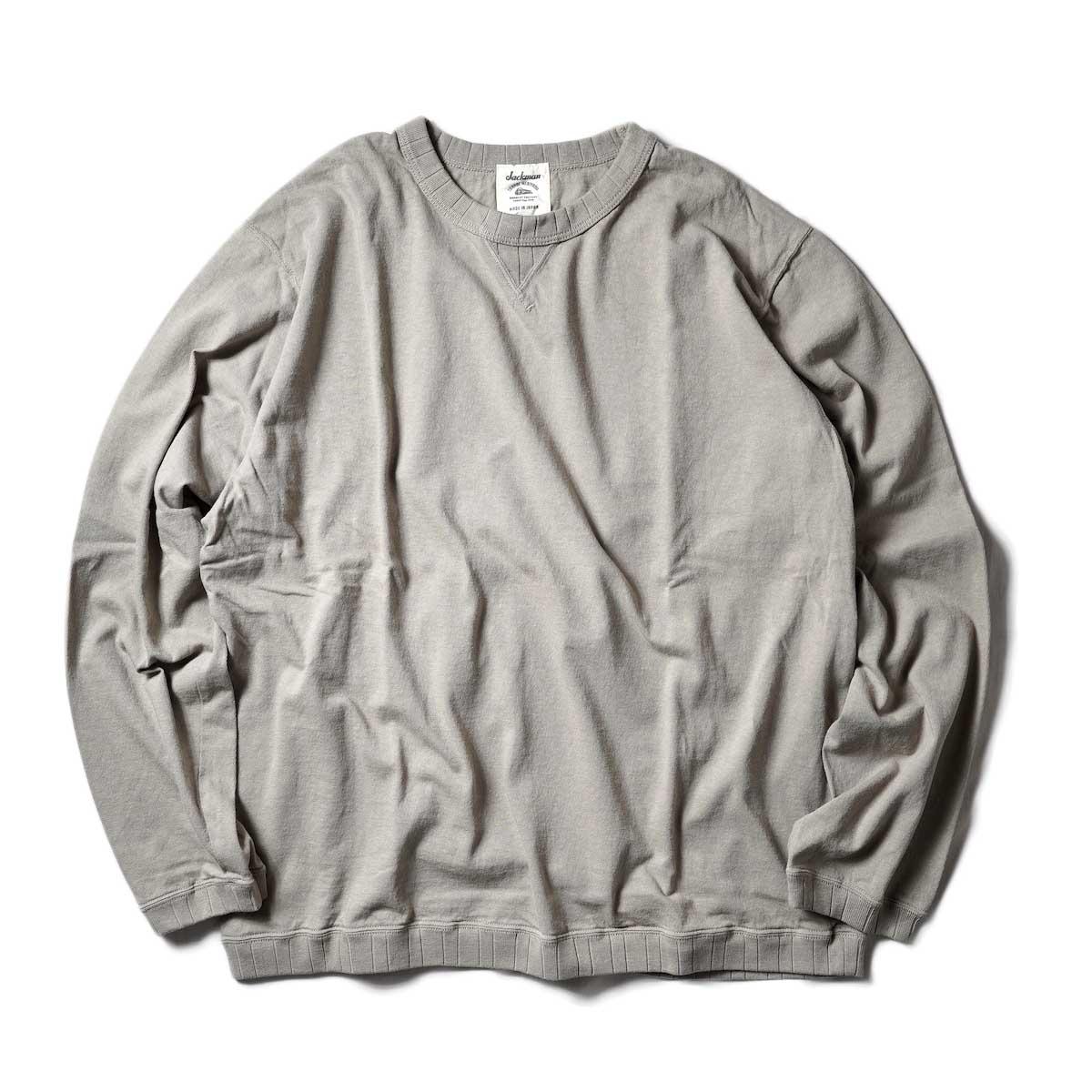 Jackman / Rib LS T-Shirt (Dirty Dirty Base)