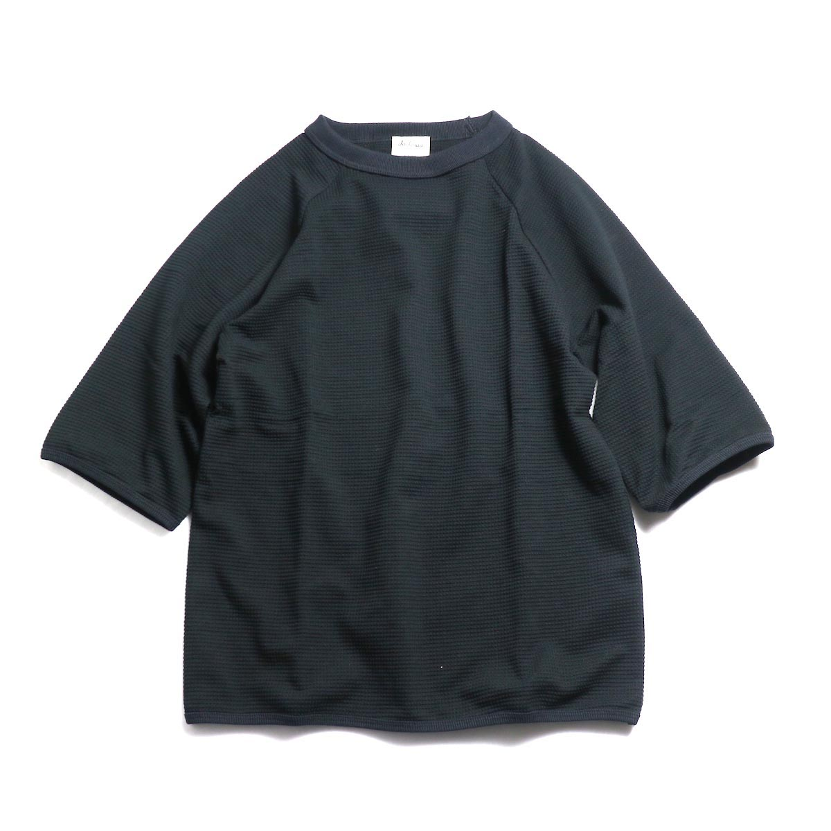 Jackman / 1/2 Sleeved T-Shirt -Black