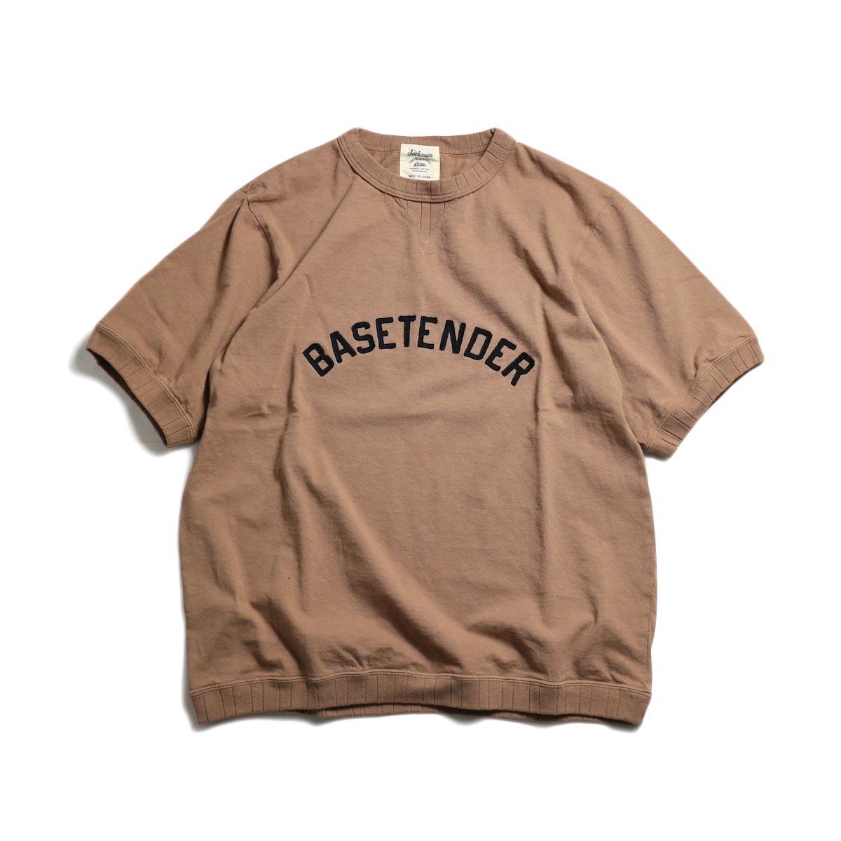 Jackman / Rib T-Shirt (BASETENDER) -Camden Brick