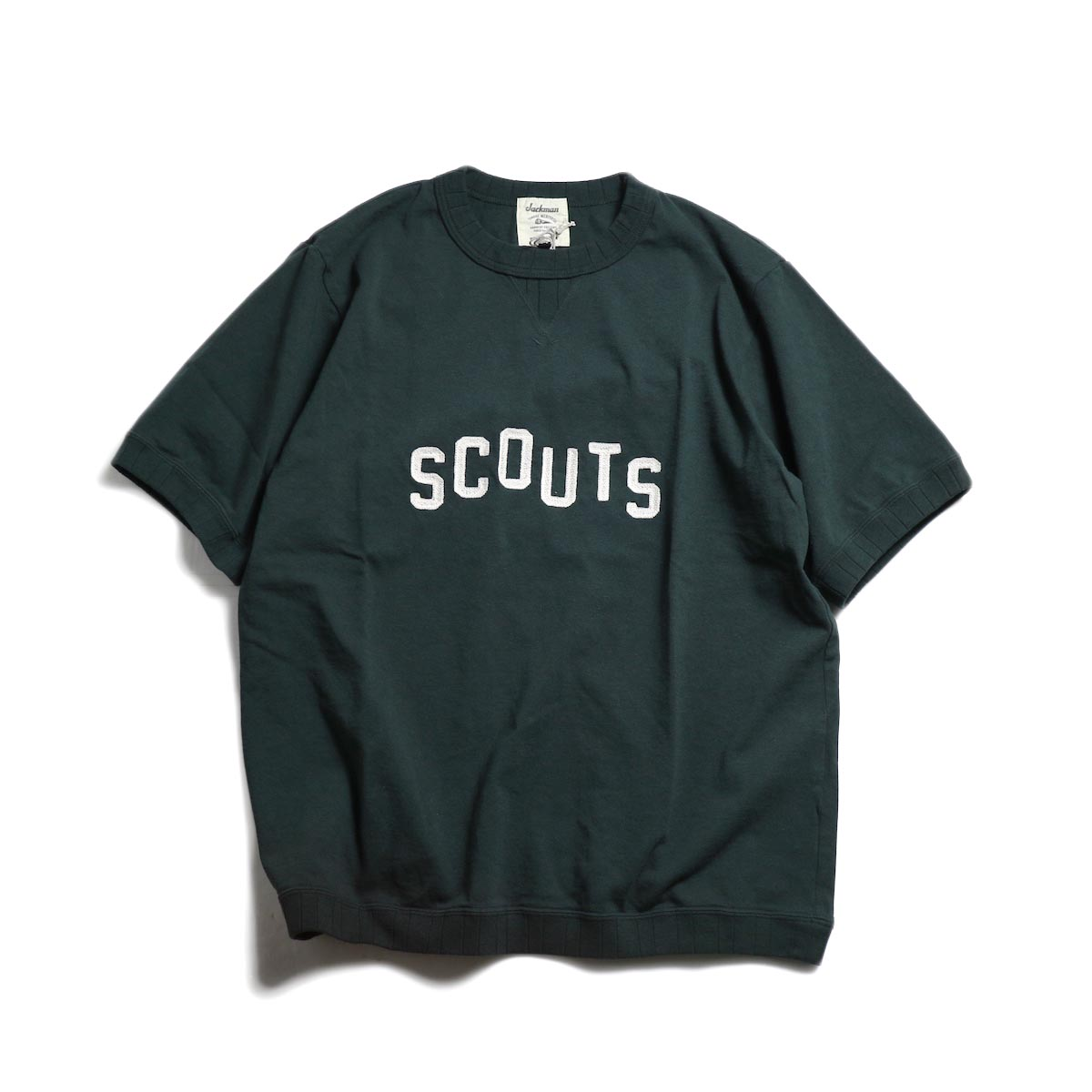 Jackman / Rib T-Shirt (SCOUTS) -Stand Green