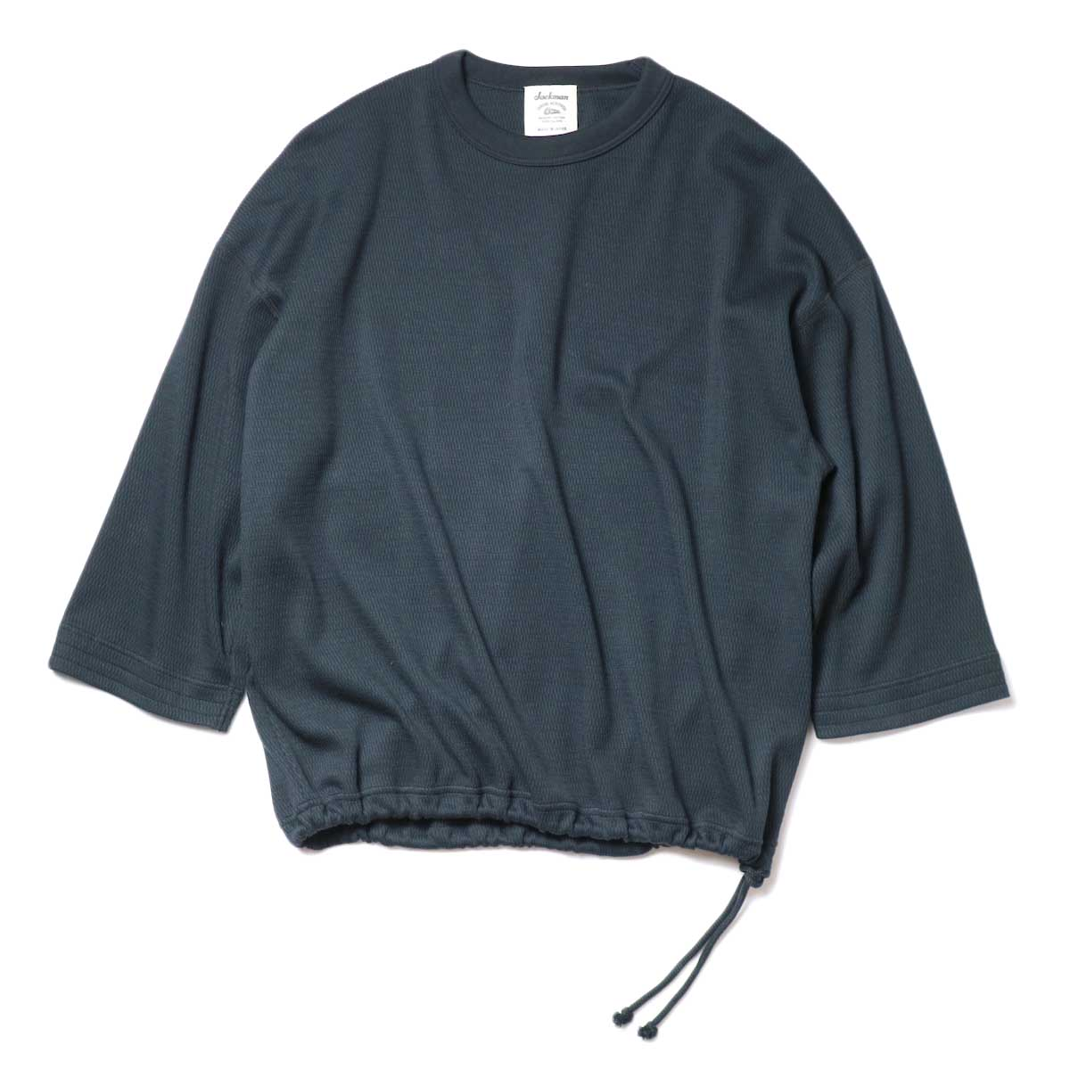Jackman / Thermal Drop Crew (Black) 正面