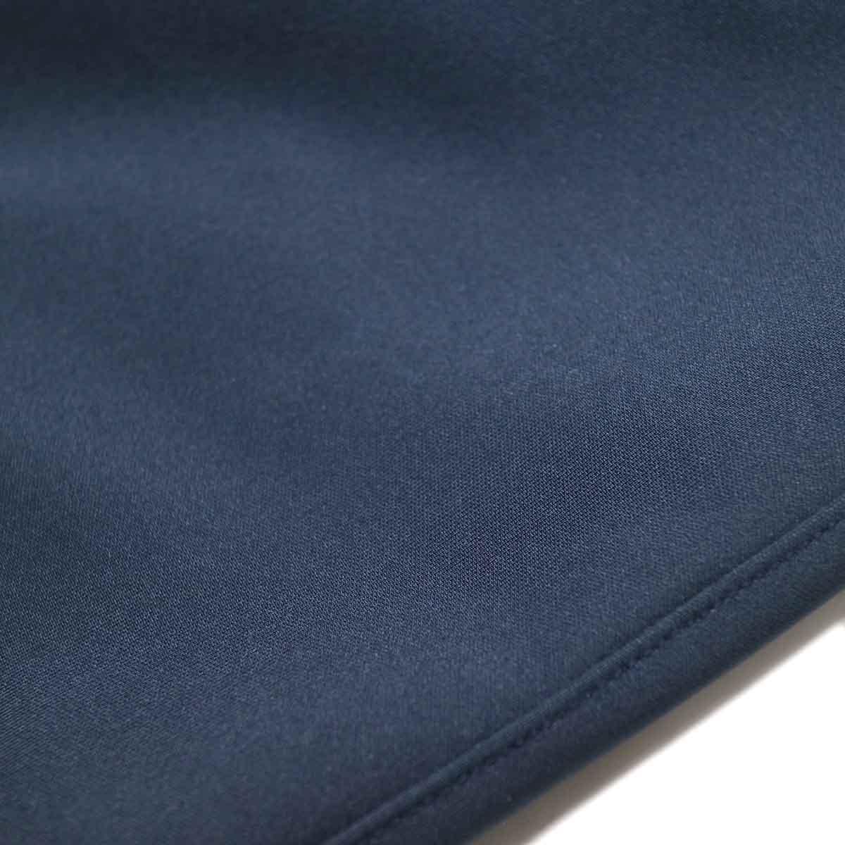 Jackman / High-density Jersey Coat (Navy) 生地アップ
