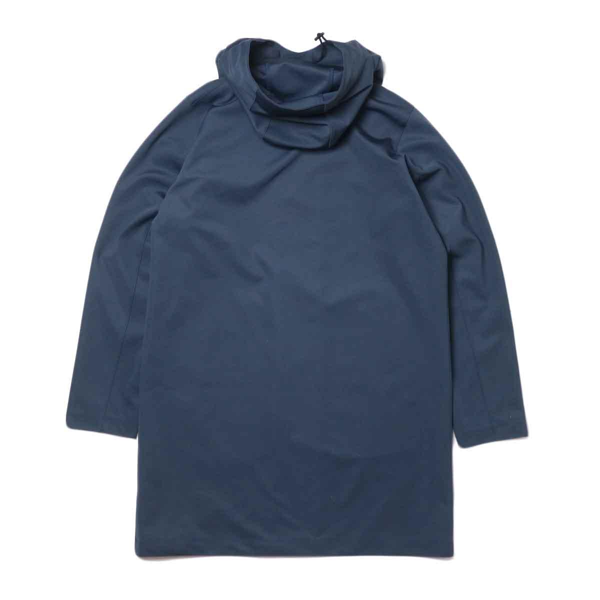 Jackman / High-density Jersey Coat (Navy) 背面
