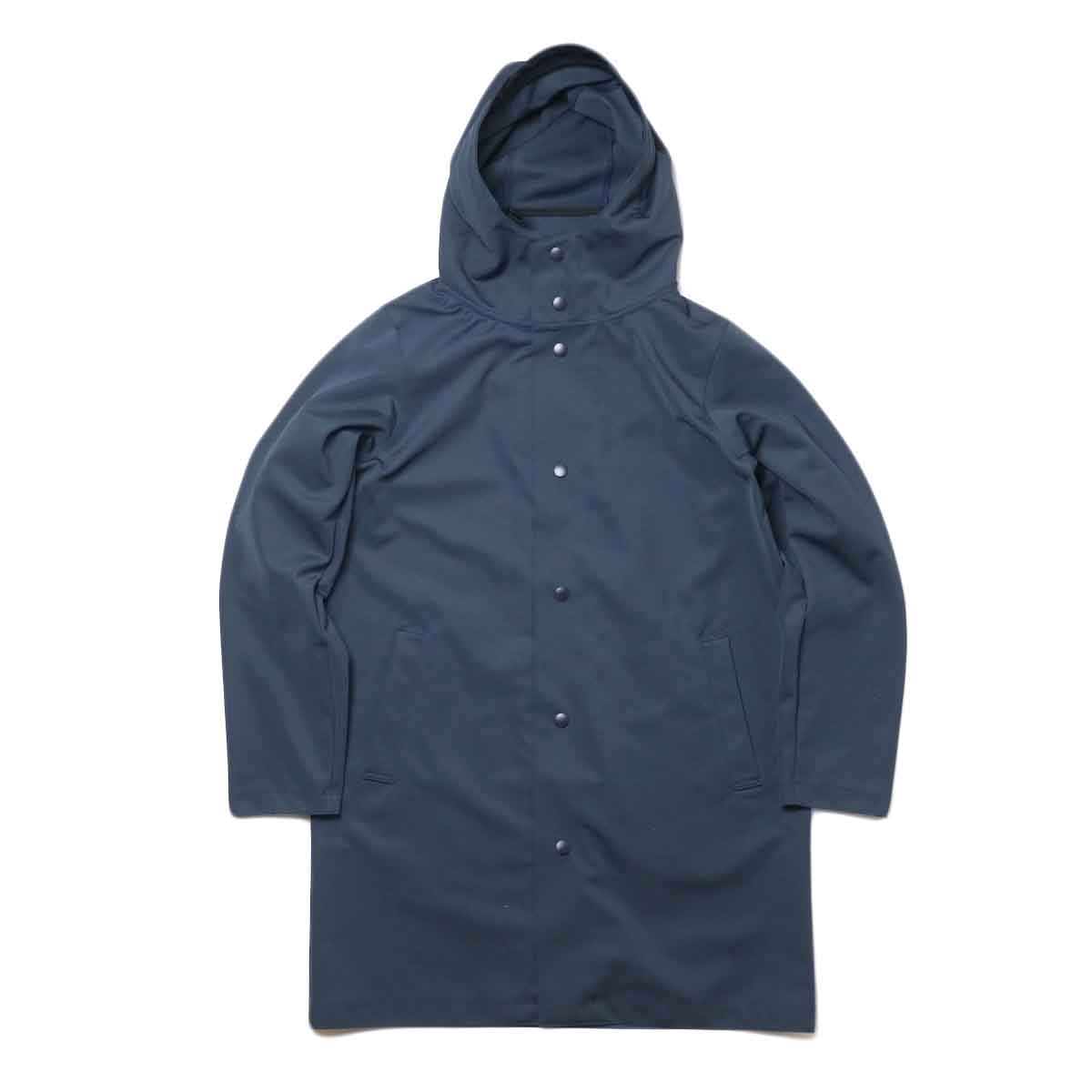 Jackman / High-density Jersey Coat (Navy) 正面