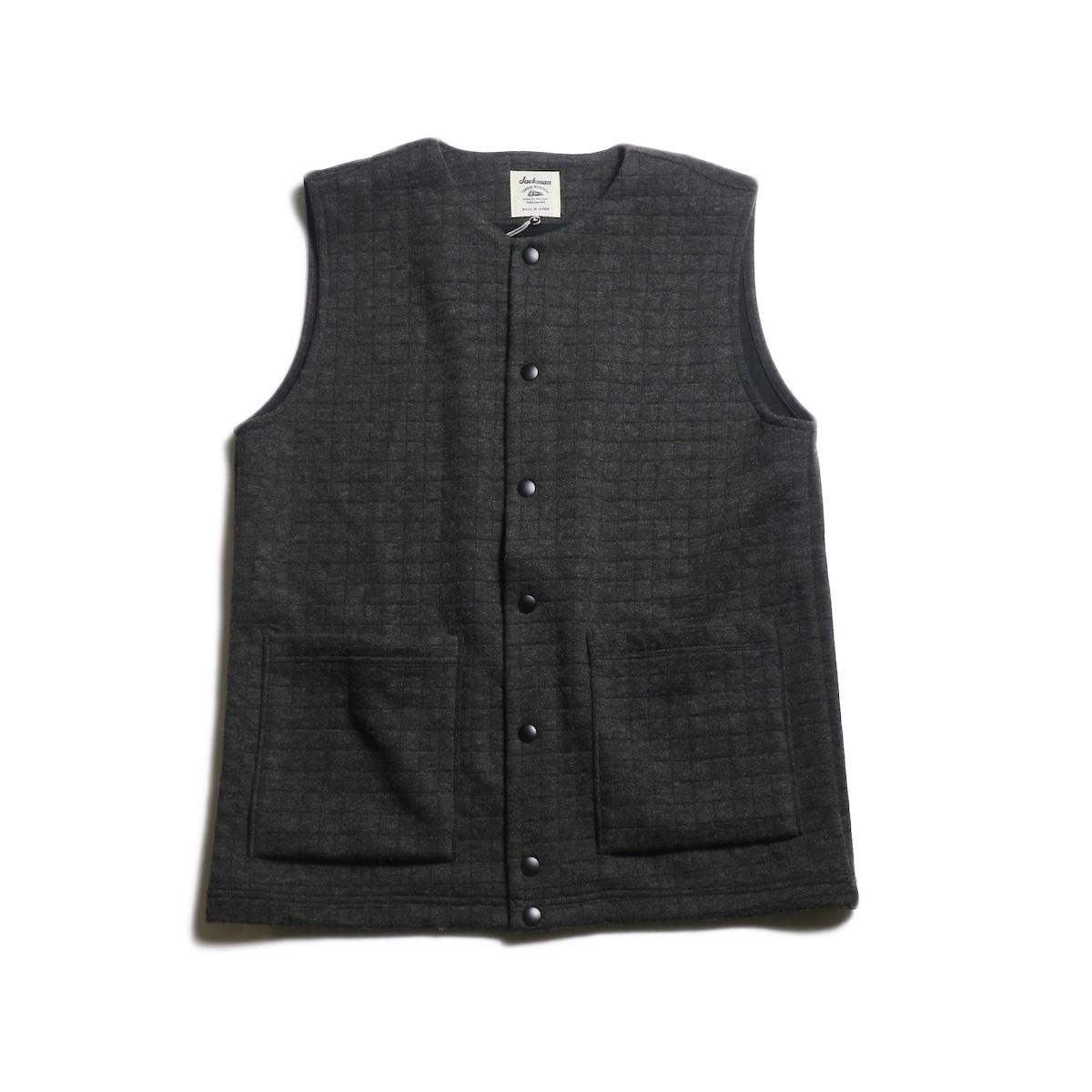 Jackman / Jersey Vest (Charcoal)
