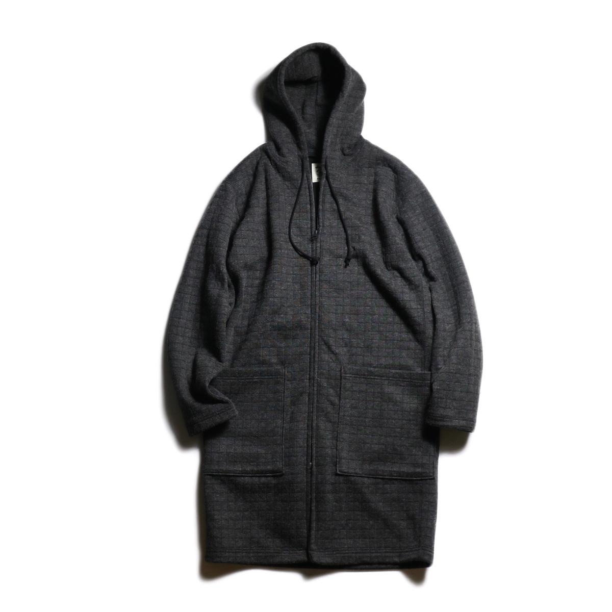 Jackman / Jersey Long Parka (Charcoal)