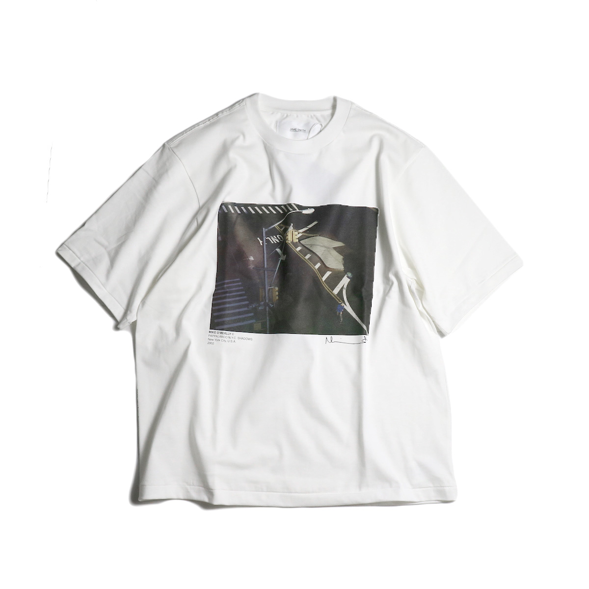 JANE SMITH / PAPPALARDO NYC SHADOWS. S/S Tee