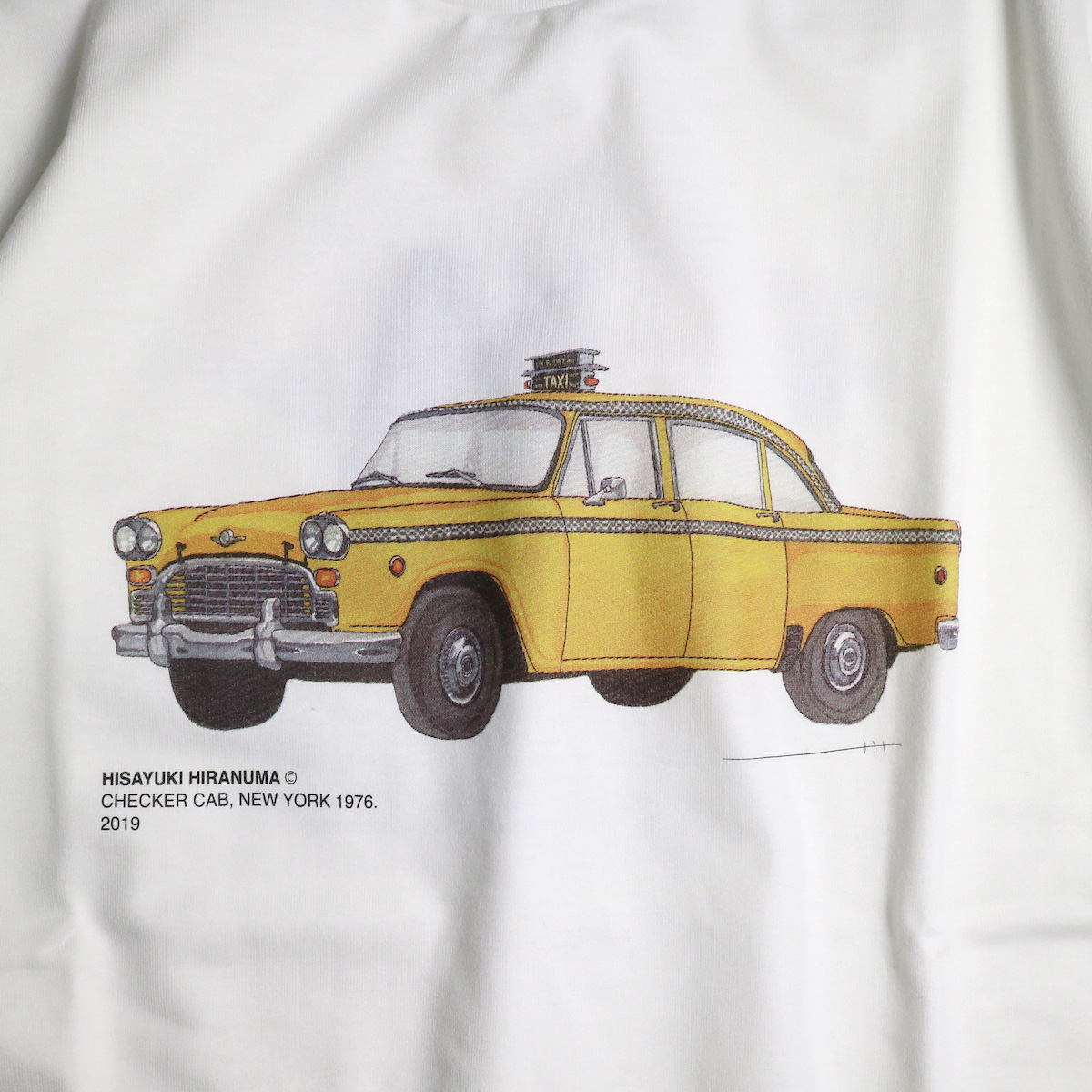 JANE SMITH / CHECKER CAB NEW YORK 1976 S/S Tee プリント