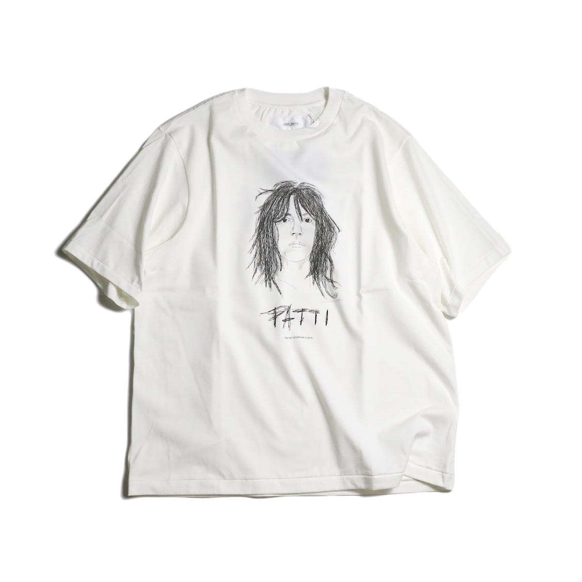 JANE SMITH / PATTI S/S Tee 正面