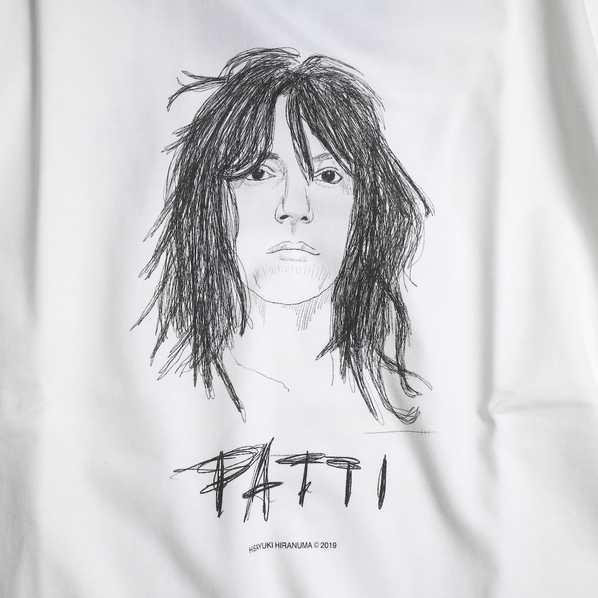 JANE SMITH / PATTI S/S Tee プリント