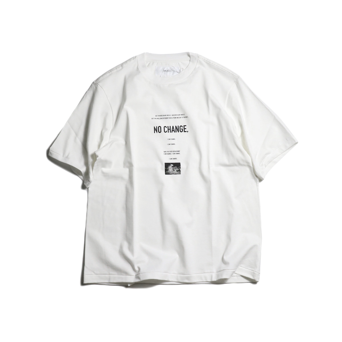 JANE SMITH / NO CHANGE L/S Tee 正面