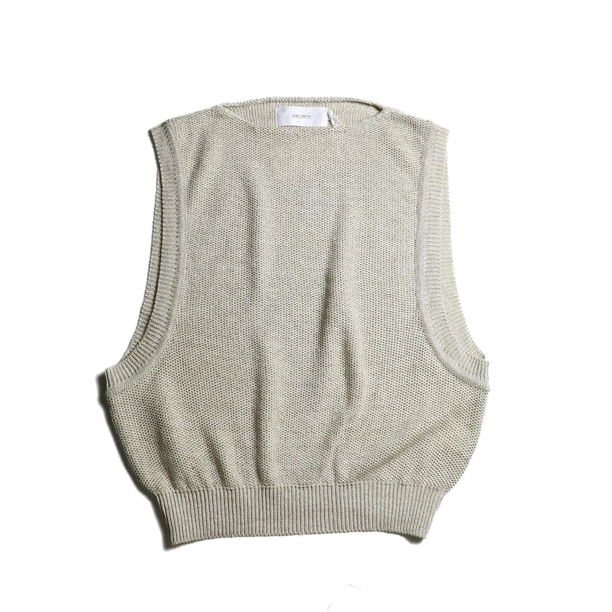 JANE SMITH / Over Vest (Beige)