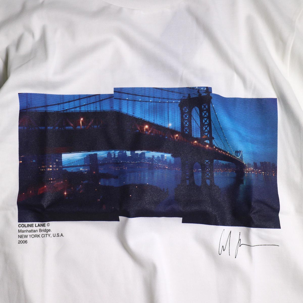 JANE SMITH / Print Tee (MANHATTAN BRIDGE S/S)プリント