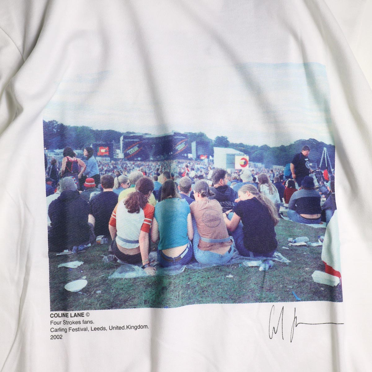 JANE SMITH / Print Tee (FOUR STROKES FANS.CARLING FESTIVAL S/S)プリント