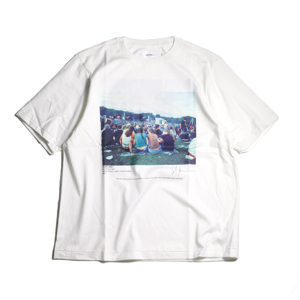 JANE SMITH / Print Tee (FOUR STROKES FANS.CARLING FESTIVAL S/S)
