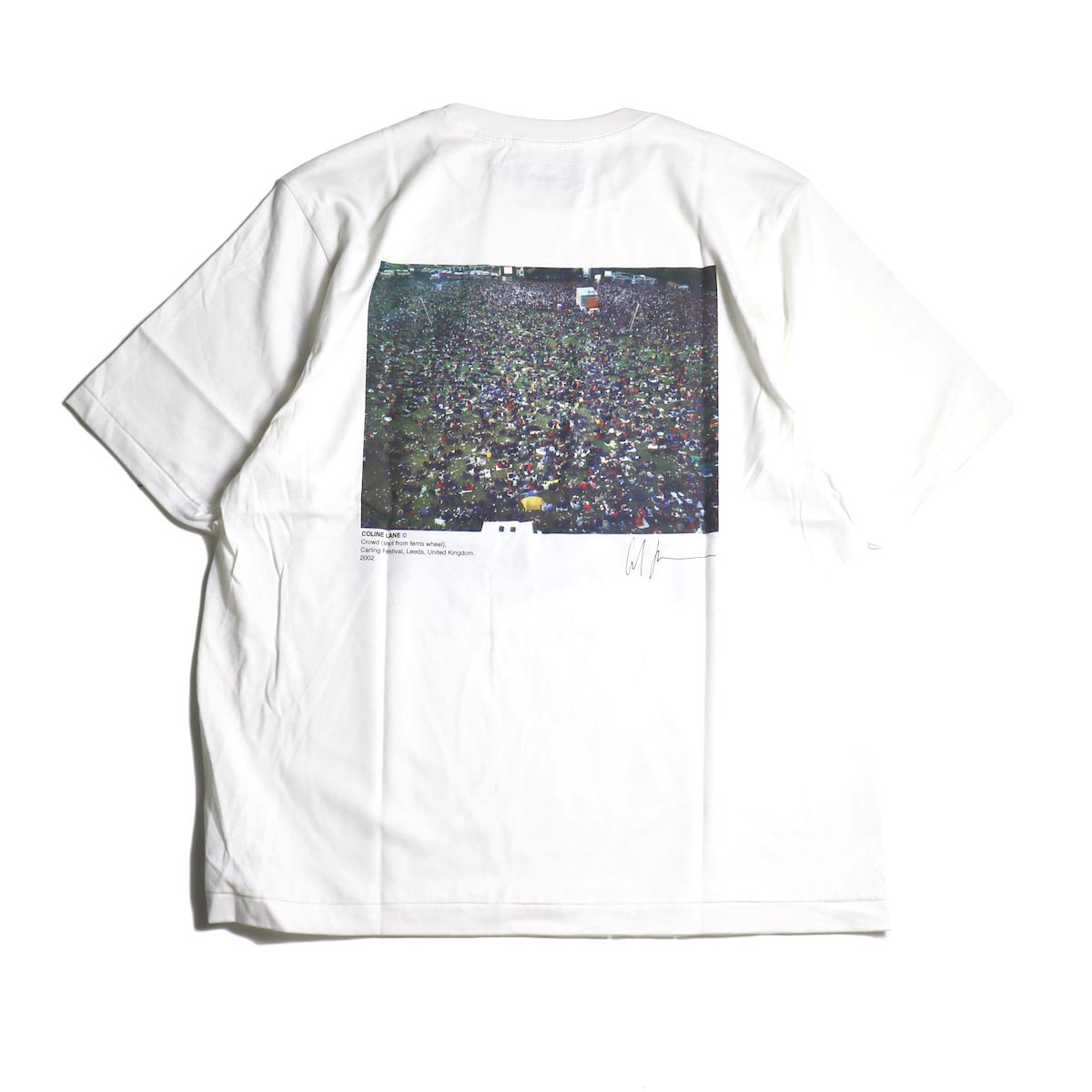 JANE SMITH / Print Tee (FOUR STROKES FANS.CARLING FESTIVAL S/S)背面