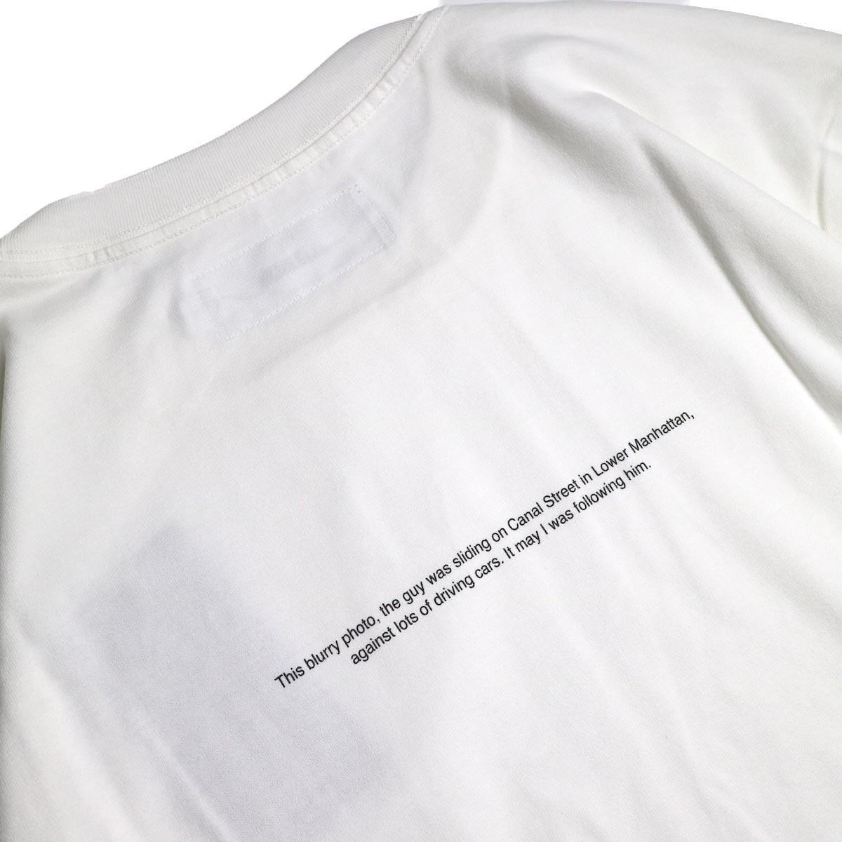 JANE SMITH / Print Tee (KERRY GETZ & JASON DULL,CANAL STREET IN THE RAIN S/S) -White背面プリント