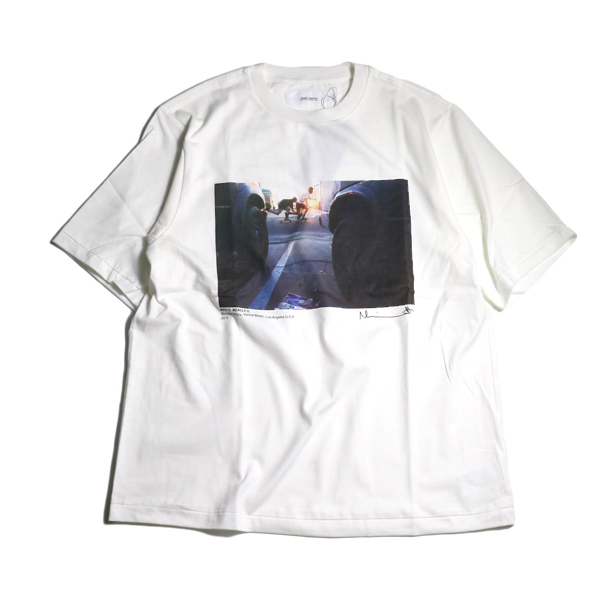 JANE SMITH / Print Tee (BLONDEY MCCOY S/S)正面