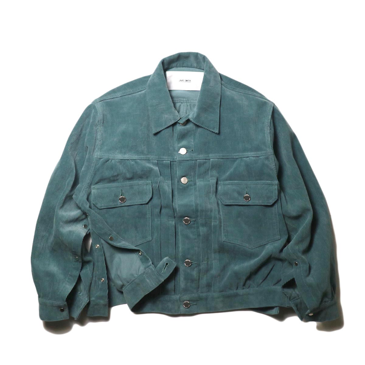 JANE SMITH / TRUCKER JACKET (jade green)