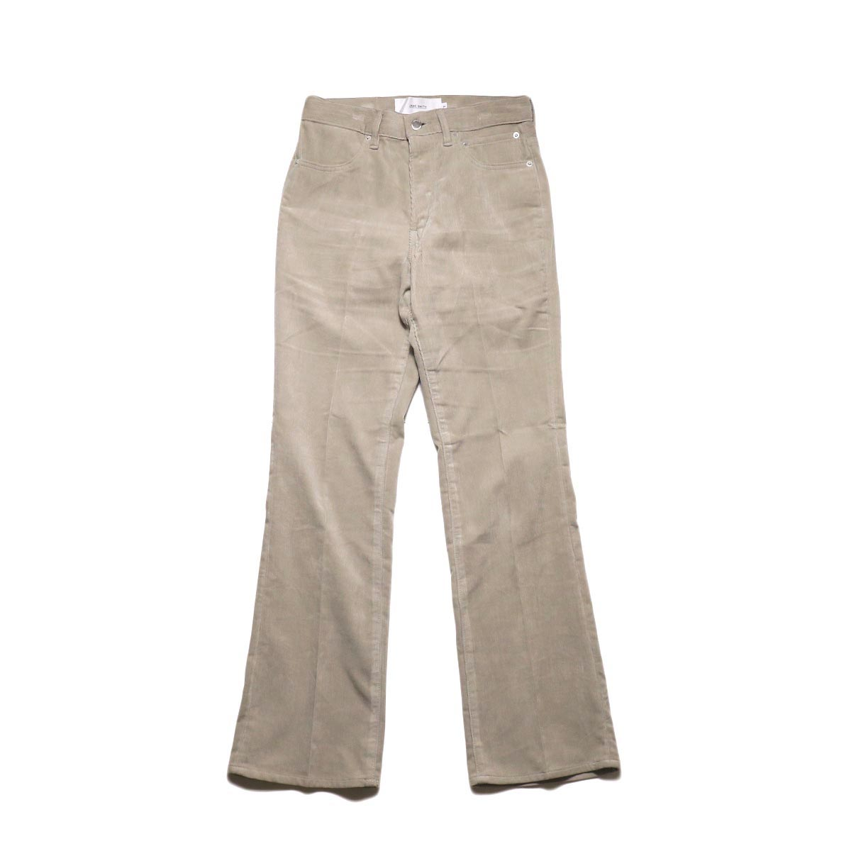 JANE SMITH / 5POCKET BOOTSCUT (fawn beige) 正面