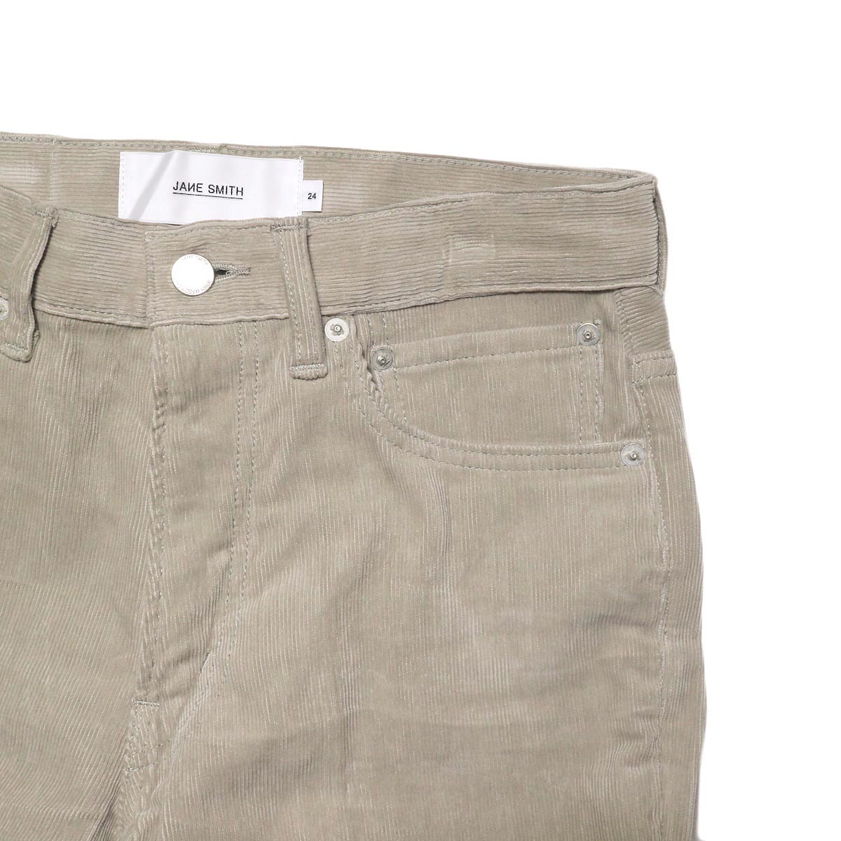 JANE SMITH / 5POCKET BOOTSCUT (fawn beige) チェンジポケット