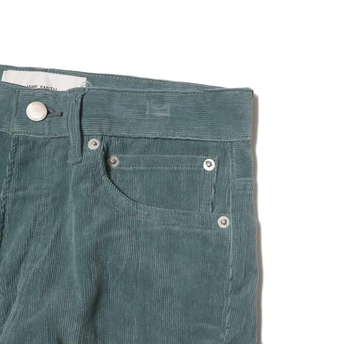 JANE SMITH / 5POCKET BOOTSCUT (jade green) チェンジポケット